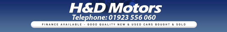 H &amp; D Motors - Used cars in Watford 
